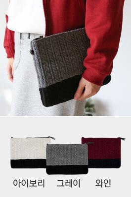 <b>麻花型针织衫(无带)</b>提包