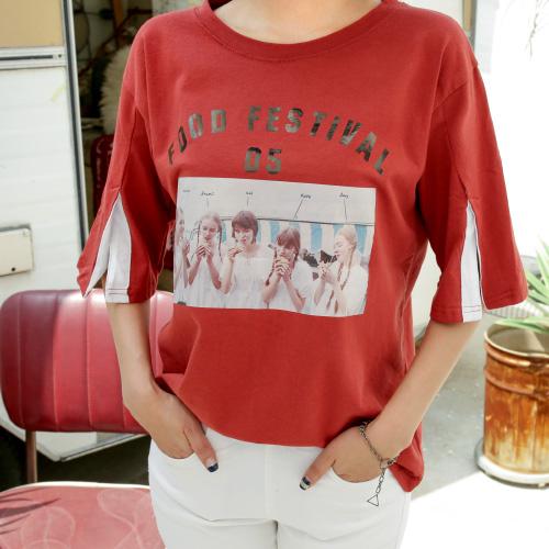 <b>缝袖T恤图片</b> <br><br> <font color=red>图书销售- 30.05顺序交付</font> </br>