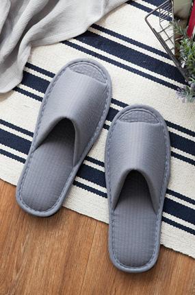 <b>[natural365]干净贴身拖鞋(灰色</b> )
