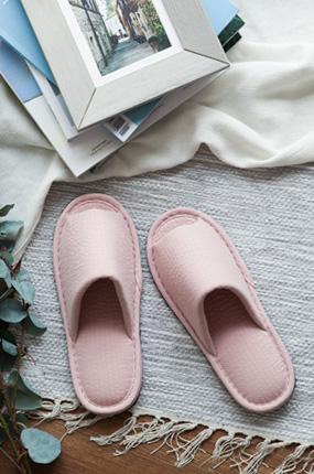 <b>[natural365]干净贴身拖鞋(粉色</b> )