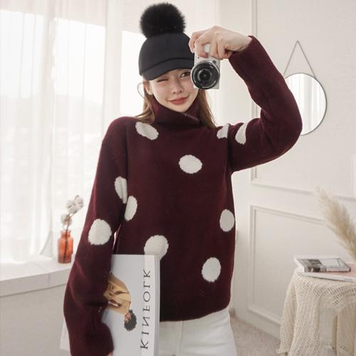 <b>雪点波拉针织衫</b>