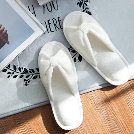 <b>每日蝴蝶结鞋鞋[白色]</b>