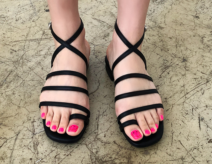 <b>Olain peel /束带凉鞋(2cm)</b>